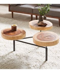 Arcadia Coffee Table, Quick Ship - Brown