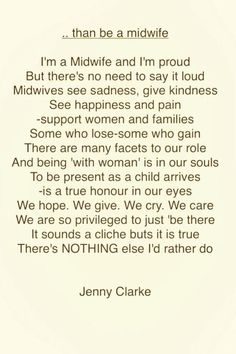 """Lovely! must-read poem for #midwives """"@JennytheM: #thanBeAMidwife  x pic.twitter.com/no5VsVRYV1"""""""