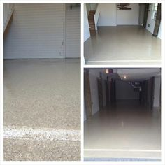 Rhino Linings of Ocean County. HomePro garage floors for Callan and Moeller Construction.
