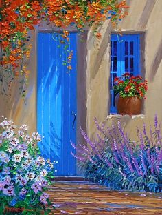June 2011 – Page 2 – Mikki Senkarik – leinwandkunst Simple Acrylic Paintings, Acrylic Art, Pintura Tole, Pictures To Paint, Beautiful Paintings, Painting Techniques, Painting Inspiration, Amazing Art, Landscape Paintings