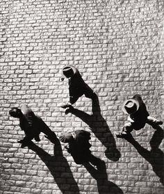 Bedrich Grunzweig    ::    Home From Work, New York, 1950-51