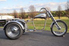 Trike Softail Bobber Chopper Frame Rolling Chassis Roller Harley Bike Kit + Tins | eBay Motors, Parts & Accessories, Motorcycle Parts | eBay!