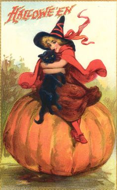 Halloween Cards From The Past
