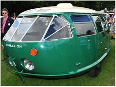 Another Pinner wrote...     1933 Dymaxion designed by architect Buckminster Fuller