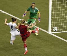 USA Defeats Germany to Advance to Women's World Cup Final: Photos
