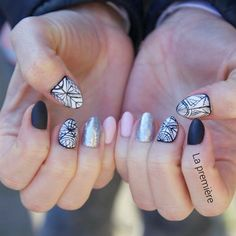 """""""#nail #etnonail #geometrixnail #lapremiere #warsawnails #mani #instanails"""""""