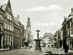 Fontein op de markt Zutphen