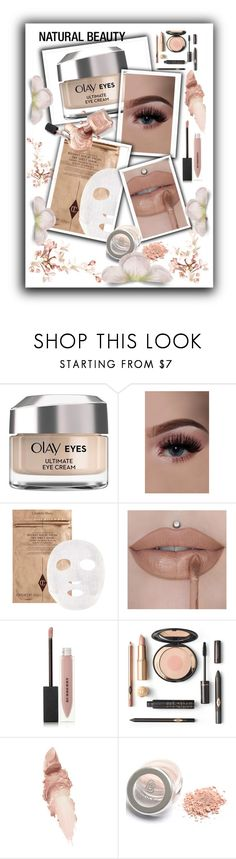 """""""Minimalist Beauty"""" by sabine-promote ❤ liked on Polyvore featuring beauty, Olay, Burberry and Maybelline"""