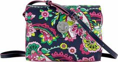 Vera Bradley Scallop Hipster Petal Paisley -#style #accessories #fashion #summertrends #styletips
