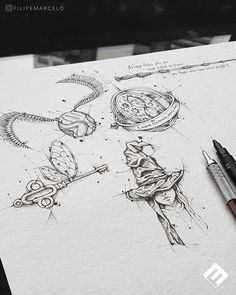 Discover recipes, home ideas, style inspiration and other ideas to try. Harry Potter Sketch, Harry Potter Drawings, Harry Potter Tattoos, Harry Potter Love, Harry Tattoos, Witch Tattoo, Hp Tattoo, Body Art Tattoos, Small Tattoos