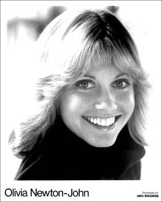 Olivia Newton-John   I remember this photo of her ~ she is so beautiful!  Inside & Out! :)