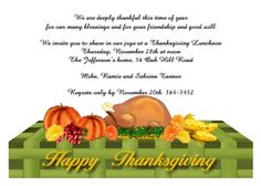 21 best thanksgiving invitations images on pinterest thanksgiving