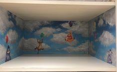 Armadio bebè  Come ho dipinto e disegnato l'interno dell'armadio per la mia little star