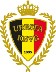 Belgium Primary Logo on Chris Creamer's Sports Logos Page - SportsLogos. A virtual museum of sports logos, uniforms and historical items. Football Team Logos, Soccer Logo, Football Soccer, Sports Logos, Soccer Teams, Football Shirts, Belgium National Football Team, National Football Teams, Vincent Kompany