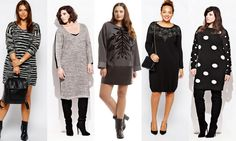 Plus SIze Sweater Dresses on The Curvy Fashionista