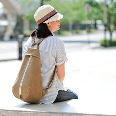 ベリー / ベージュ【受注製作】 Trocco 帆布バッグ - Hanp Bag Trocco