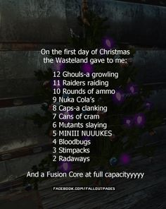 Sing along with me!  Dont know about you guys but Im spending more time on Facebook than on any other media. Thats because I have a neat group where we talk about Everything Fallout and share out experiences. Would you like to learn more? >>http://ift.tt/1Ko7tmy  fallout fallout 4 fallout christmas