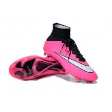 lowest price bc218 c4001 Nike Mercurial Superfly FG Pink Black White cheap football shoes Cheap  Football Shoes, Nike Football