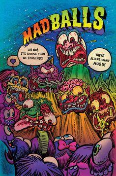 Madballs art by Brad McGinty