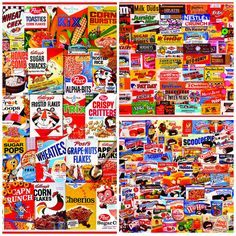 Great Collage Jigsaw Puzzles by White Mountain Puzzles.  Click to see more great collage puzzles: http://www.whitemountainpuzzles.com/products.asp?dept=123