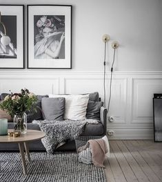 50 Totally Bright Scandinavian Living Room Designs Ideas - HOMYFEED Wohnzimmer Ideen & Design Source by leonieweide Bohemian Living Rooms, Living Room Interior, Home Living Room, Home Interior Design, Living Room Furniture, Living Room Designs, Living Room Decor, Modern Interior, Bohemian Apartment