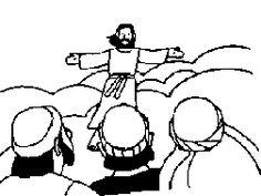 Christelijke Kleurplaten Discipelen Kleurplaten Categorie Hemelvaart Download Kleurplaten
