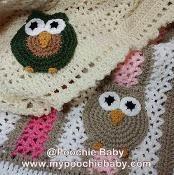 Crochet Owl Afghan - via @Craftsy