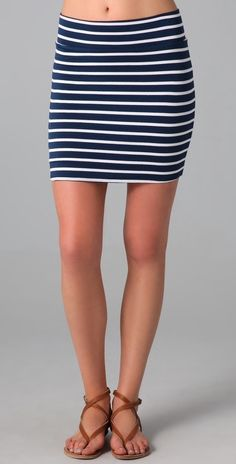 Rachel Pally Bandage Miniskirt thestylecure.com