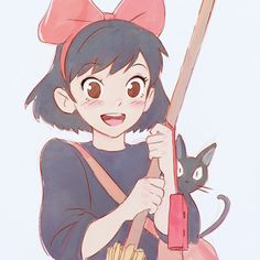 Image about anime in Studios Ghibli by Kaori-chan ♥ M Anime, Anime Kawaii, Anime Love, Anime Art, Hayao Miyazaki, Totoro, Art Studio Ghibli, Studio Ghibli Movies, Studio Ghibli Characters