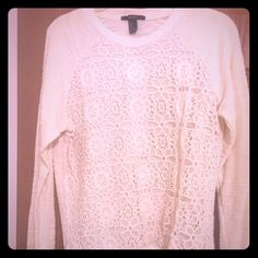 Forever 21 sweater. Forever 21 Sweater. Size large. Worn once. Forever 21 Tops Sweatshirts & Hoodies
