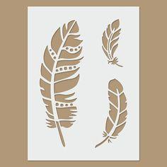 Feather Stencil