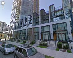 Vancouver  town homes street view