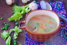 Barley soup with beef