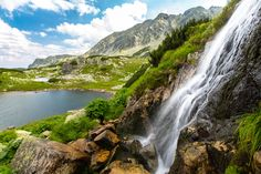 Waterfall in the Alps puzzle in Waterfalls jigsaw puzzles on TheJigsawPuzzles.com. Play full screen, enjoy Puzzle of the Day and thousands more.