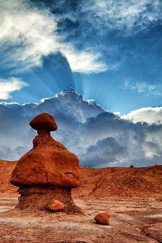 ~ Goblin Valley ~ Utah....by M. Adam....