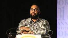 "Kevin Young discusses ""Book of Hours"" at the 2015 Library of Congress National Book Festival in Washington, D.C."