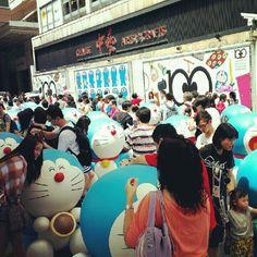 Doraemon 100 years anniversary;D#Doraemon#cartoon#Japan#blue#robot#cat#ppl#people#100#100years#anniversary#special#tst#daily#photooftheday#hk#hkig#hongkong#instagram#instamood#instadaily#instagirl#follow#followme#followback#follower#shoutout - @_gracepidan_- #webstagram