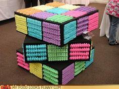 peeps rubix cube