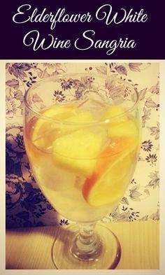 Elderflower white wine sangria recipe
