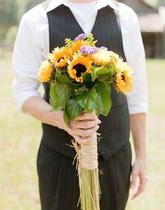 sunflower bouquet!