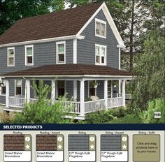 House color combo ideas on pinterest yellow doors - House colors with brown roof ...