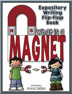 "Magnetism at its BEST!!!!  Get your students to ""Show What They Know"" about Magnets in this Fresh and Funky Flip Flap Book!  It's INTERACTIVE and F.U.N.!$"