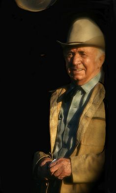 Film homage, Walter Brennan, Old Tucson, Arizona by David Lee Guss, via Flickr