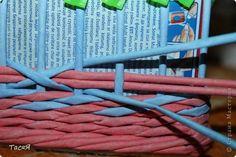 Мастер-класс Поделка изделие Плетение Серия «Зимняя сказка»  Серия пятая заключительная   Трубочки бумажные фото 4