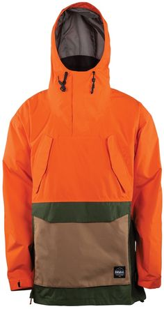thirtytwo MEYERS Ski & Snowboard Jacket, XL, Orange