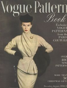 Vogue pattern book @Lindsay Parina This is right up your alley!