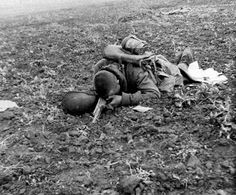 A Russian soldier died on the Eastern Front