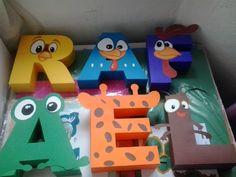 Nome do aniversariante em letras 3D de papel - fazemos qualquer tema.