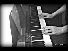 MAD WORLD Gary Jules - Small piano cover (By Solomarty)
