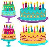 Image result for birthday candle clip art